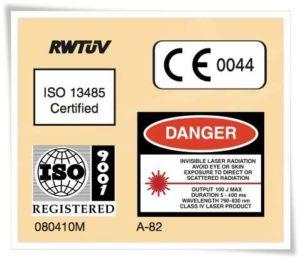 Certificazione Di Sicurezza Epilazione Laser